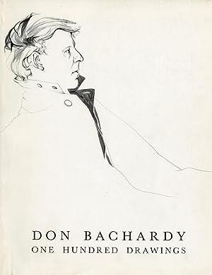 Don Bachardy: One Hundred Drawings: BACHARDY, DON