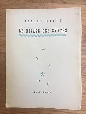 Le Rivage des Syrtes: GRACQ Julien