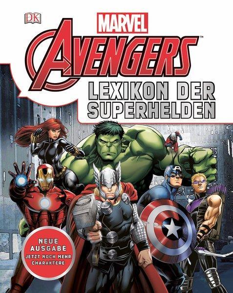 Marvel Avengers. Lexikon der Superhelden. Alter: ab 8 Jahren.