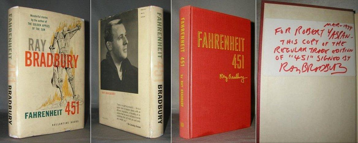 """an analysis of predictions in fahrenheit 451 a book by ray bradbury Resources for criticism on fahrenheit 451 """"the martian chronicles and fahrenheit 451: ray bradbury's cold you can also check out books from cal poly with a."""