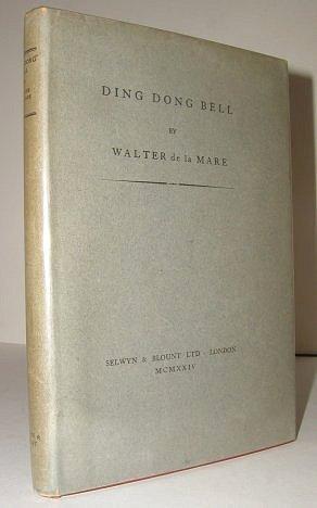 Ding Dong Bell De La Mare, Walter Hardcover