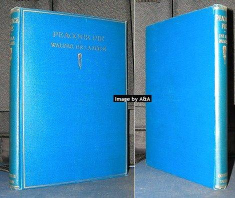 Peacock Pie signed presentation copy De La Mare, Walter Hardcover