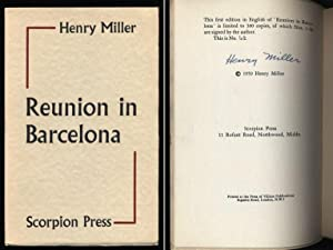 Reunion In Barcelona Signed Limited Edition: Miller, Henry