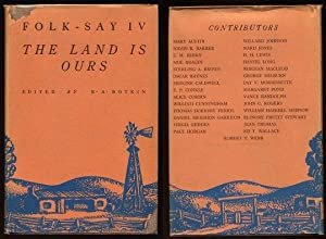 Folk-Say Iv The Land Is Ours