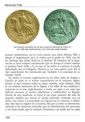 Apuntes de Sigilografía española: Menéndez Pidal de Navascués, Faustino