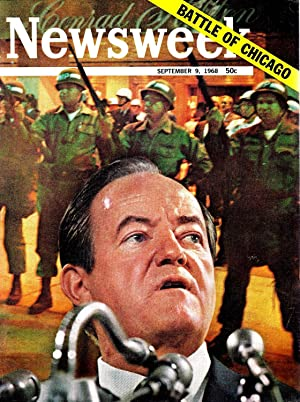 NEWSWEEK MAGAZINE SEPTEMBER 9,1968