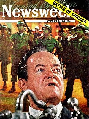 NEWSWEEK MAGAZINE SEPTEMBER 9,1968