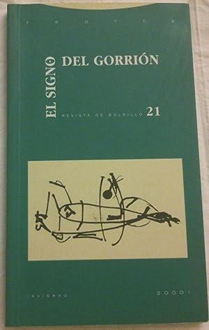 El signo del gorrion 21.: VV.AA. Juan Larrea,