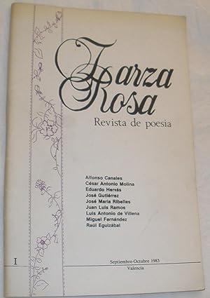 Zarza Rosa. Revista de poesía nº 1.: VV.AA. (Alfonso Canales, Cesar Antonio Molina, ...