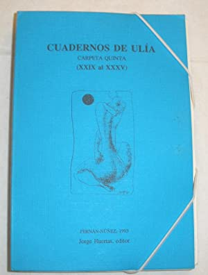 Cuadernos de Ulia. Carpeta V.: Luis Jiménez Martos,