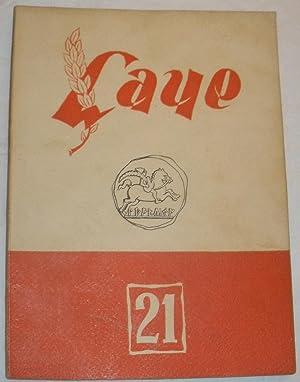 Revista Laye nº 21.: VVAA (Carlos Barral, Joan Ferratér, etc)