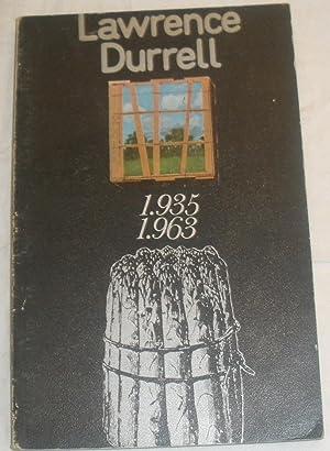 Poemas escogidos (1.935-1.963): Lawrence Durrell.