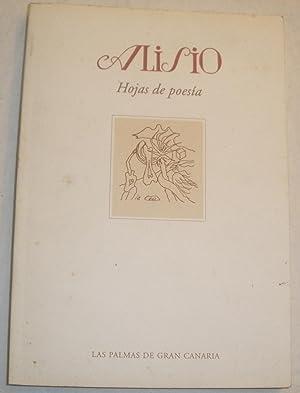 Alisio. Hojas de poesía. 1952-1955: VV.AA. (Gerardo, Diego,