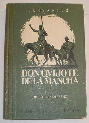 Don Quijote de la Mancha.: Cervantes.