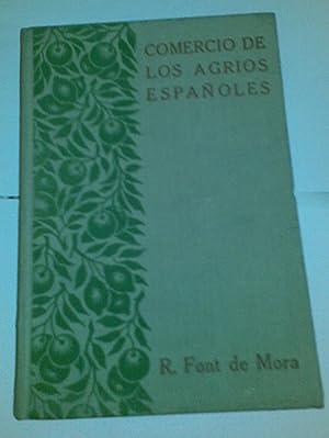Comercio de los agrios españoles.: R. Font de