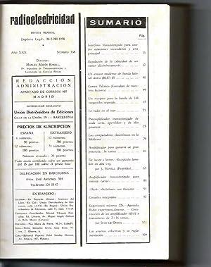 Radioelectricidad Revista mensual Nº del 338 al 348: Manuel Martín Bonell Director