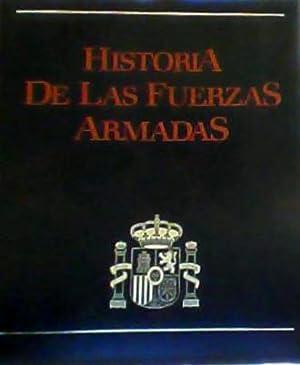 Historia de Las Fuerzas Armadas OBRA COMPLETA 5 VOLUMENES: Redondo Diaz, Fernando