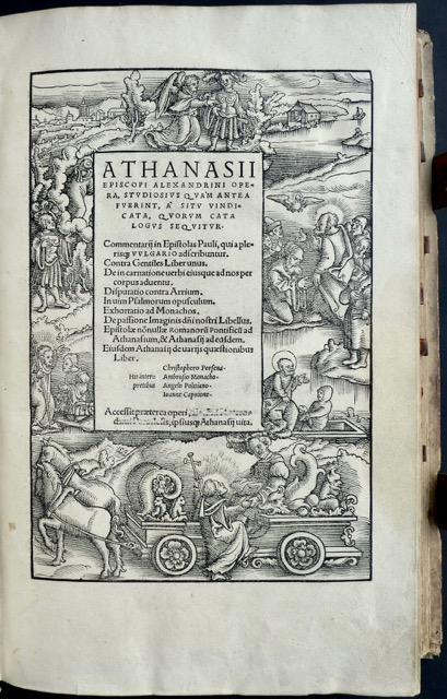 Athanasii Episcopi Alexandrini Opera, studiosus quam antea: Athanasius Episcopus Alexandrinus