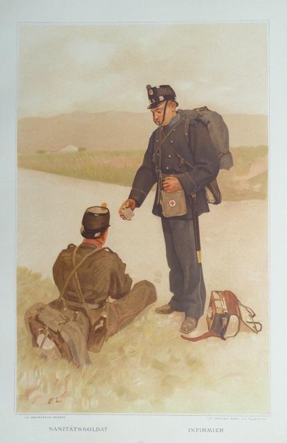 L?Armée Suisse / Die Schweizerische Armee, 1894,: Estoppey, David.