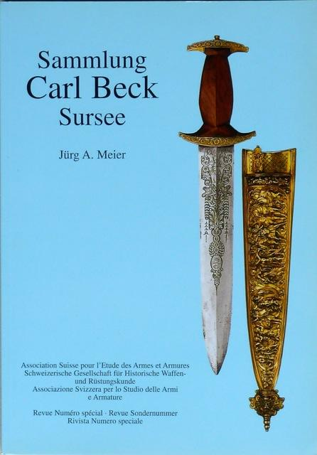 Sammlung Carl Beck, Sursee.: Meier, Jürg A.