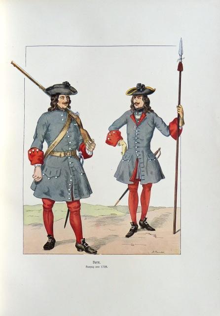 Schweizer Militär vom Jahr 1700 bis auf: Pochon, A. [Adolf]