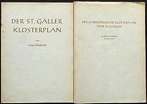 Der St. Galler Klosterplan. Mit Beiträgen von Dietrich Schwarz, Johannes Duft und Hans Bessler...