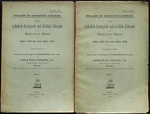 Die katholisch-theologische und kirchliche Litteratur des Bisthums [Literatur des Bistums] Basel ...