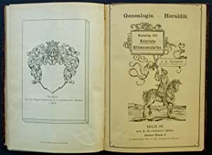 Antiquarischer Katalog : Geschichte, Historische Wissenschaften und Hilfswissenschaften, Genealogie...