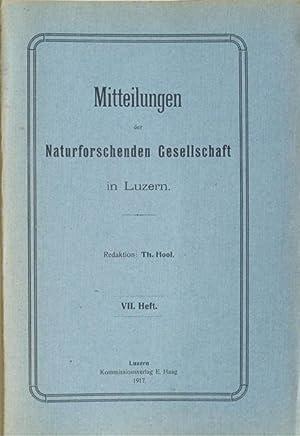Der Pilatus in seinen pflanzengeographischen und wirtschaftlichen Verhältnissen.: Hool, Th. [...