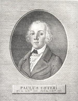 Paulus Usteri, geb. den 29 Oct.br. 1768. starb den 13 Oct.br. 1795].: Meyer von Knonau, Ludwig].