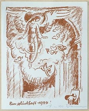 Ein glückhaft 1924!: Wanner, A. [August].