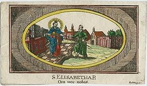 S. Elisabetha R. : Ora por [sic!,: Frehling.