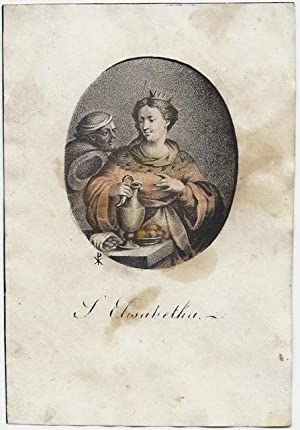 S. [Sankt, Sancta, Hl.] Elisabetha [Elisabeth, von: P. X. (od.