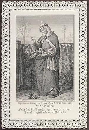 St. [Sankt, Sancta, Hl.] Elisabetha [Elisabeth, wohl: Ittenbach pinx. /