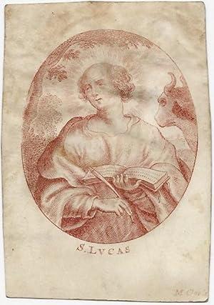 S. Lucas [Sankt, Sanct, Hl. Lukas, Evangelist].: Cools, M.