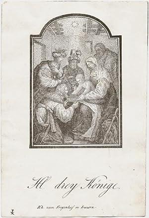 Hl. drey [drei] Könige.: P. X. (od. X. P.).