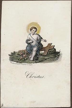 Christus [Jesus, Jesusknabe].: P. X. (od. X. P.).