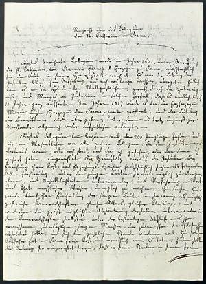 Nachricht über das Kollegium von St. Katharina in Parma.: Inderbitzin, P. Thomas [O.S.B].