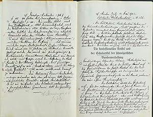 Die konfessionellen Artikel und der Schulartikel der schweizerischen Bundesverfassung. Von Dr. Th. ...