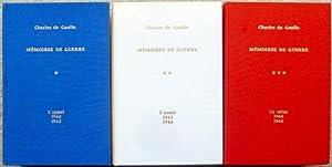 Mémoires de Guerre : I. L?appel 1940-1942; II. L?unité 1942-1944; III. Le salut 1944-...