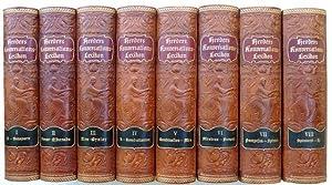 Herders Konversations-Lexikon. Dritte Auflage. Reich illustriert durch Textabbildungen, Tafeln und ...