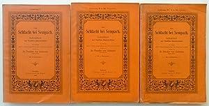 Die Schlacht bei Sempach. Gedenkbuch zur fünften Säcularfeier. Mit 10 [recte: 11] ...
