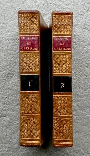 Oeuvres de Crébillon, Edition Ornée de Figures dessinées par Peyron, et grav&...
