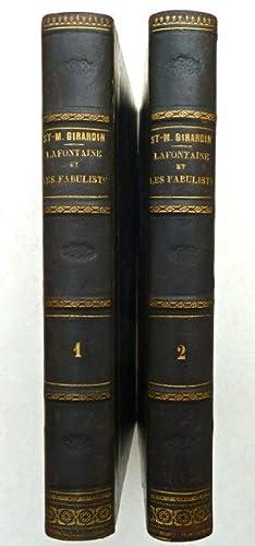 La Fontaine et les fabulistes.: Girardin, Saint-Marc.
