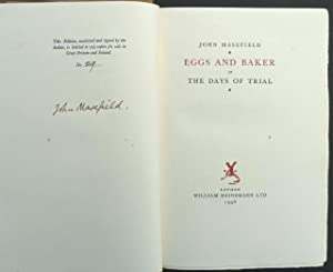 Eggs and Baker, or, The Days of Trial.