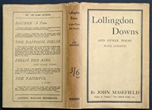Lollingdon Downs, and Other Poems, with Sonnets.