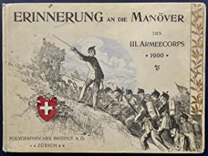 Die Herbstmanöver des III. Armeecorps (Wiederholungskurs vom 3.?19. September 1900). 24 Tafeln...