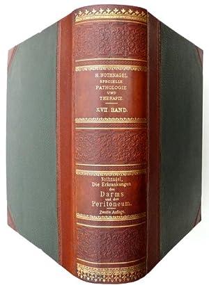 Die Erkrankungen des Darms und des Peritoneum. Zweite, umgearbeitete Auflage. Mit 20 Tafeln.: ...