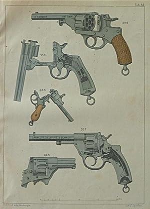 Die Handfeuerwaffen, ihre Entstehung und technisch-historische Entwicklung bis zur Gegenwart. Mit ...