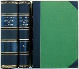Geologie der Schweiz. In zwei Bänden : I. Molasseland und Juragebirge. Mit vielen Tabellen, ...